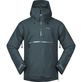Bergans Stranda Insulated Hybrid Anorak Men, forest frost